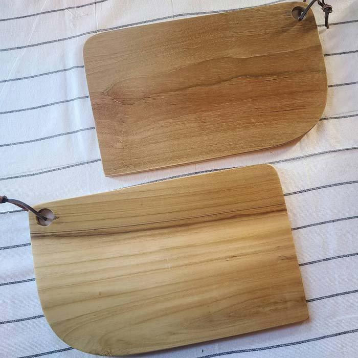 インドネシア・チーク・木製ウッド・カッティングボード・プレート サブイメージ