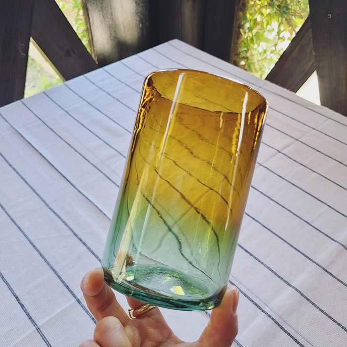 メキシコ手吹きガラス・グラス・グラデーションガラス サブイメージ