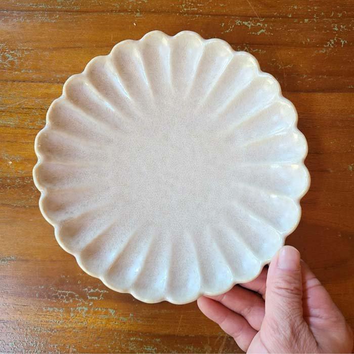 17cm菊型花プレート・取り皿・デザート皿 サブイメージ