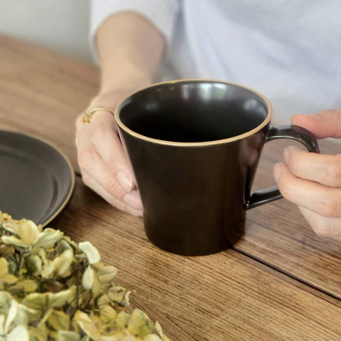 モノトーン・マット加工・シンプル・マグカップ サブイメージ