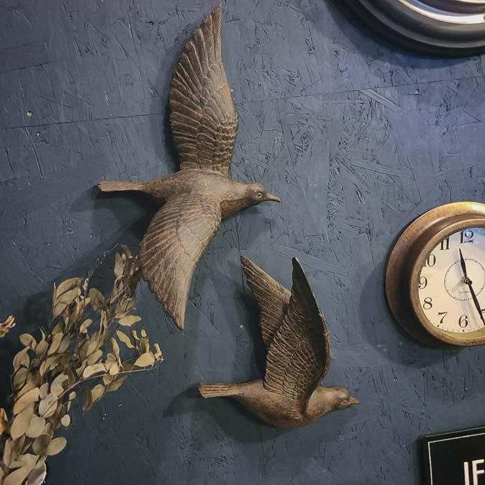 壁掛けオブジェ・鳥・ウォールデコレーション・ウォールバード サブイメージ