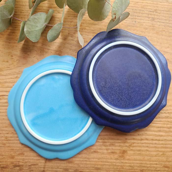 フリルスクエア・豆皿・小皿・デザートプレート・アンティーク調デザイン サブイメージ