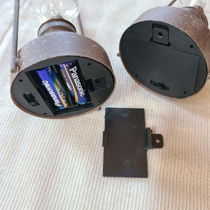 ヴィンテージ風ライト・LED・吊り下げライト M/持ち手が長め サブイメージ