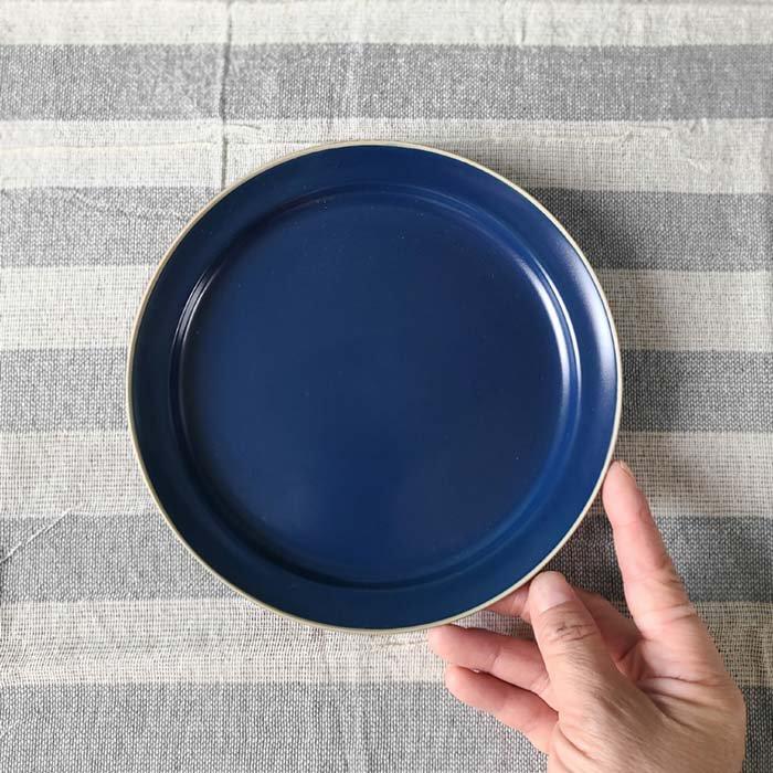 藍ブルー・マット加工・シンプル・プレート(S)・デザートプレート・取り皿 サブイメージ