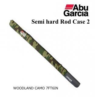 アブ ガルシア セミハード ロッドケース2 ウッドランドカモ 7'6 【本店特別価格】(お取り寄せ商品)