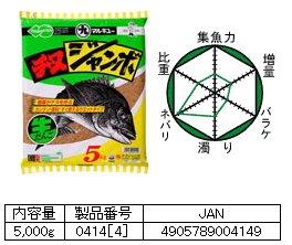 マルキュー   チヌジャンボ ウエットタイプ 1箱 (4袋入り)  (お取り寄せ商品) 【本店特別価格】