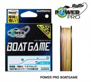シマノ パワープロ ボートゲーム  PP-F62N (0.8号(18lb)/200m/5色ピッチ) / PEライン (メール便可) (O01) 【本店特別価格】