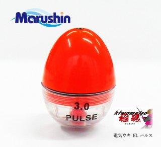 電気ウキ マルシン漁具 ELパルス (1.5号 オレンジ)  / SALE10 【本店特別価格】