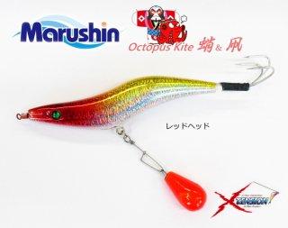 マルシン漁具 オクトパス カイト 3.5号 レッドヘッド / タコエギ 蛸餌木 / SALE 【本店特別価格】