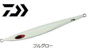 【セール】 ダイワ ソルティガ BSジグ 130g フルグロー / メタルジグ (メール便可)