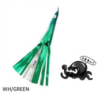 タカ産業 タコパラビラ TK-003 ホワイト×グリーン / 蛸 タコ 仕掛け (メール便可) 【本店特別価格】