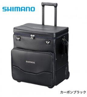 シマノ へらキャリーバッグXT BA-011S カーボンブラック (お取り寄せ商品) 【本店特別価格】