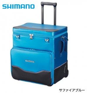 シマノ へらキャリーバッグXT BA-011S サファイアブルー (お取り寄せ商品) 【本店特別価格】