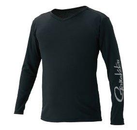 がまかつ NO FLY ZONE(R) ロングスリーブTシャツ GM-3552 ブラック LLサイズ (お取り寄せ商品) 【本店特別価格】