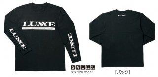 がまかつ ロングスリーブ Tシャツ (ラグゼ) LE-3519 ブラック×ホワイト Sサイズ (お取り寄せ商品) 【本店特別価格】