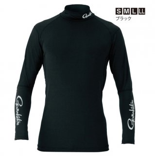 がまかつ スパイラルカット (R) 2WAYストレッチアンダーシャツ GM-3451 ブラック Mサイズ(お取り寄せ商品) 【本店特別価格】
