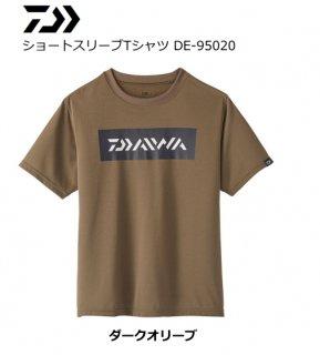 ダイワ ショートスリーブTシャツ DE-95020 ダークオリーブ XL(LL)サイズ (O01) (D01)