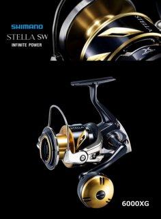 シマノ 20 ステラ SW 6000XG / スピニングリール (送料無料)  (S01) 【本店特別価格】