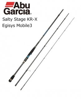 アブ ガルシア ソルティステージ KR-X エギシス モバイル3 SXES-833ML-KR / エギングロッド 【本店特別価格】(お取り寄せ)