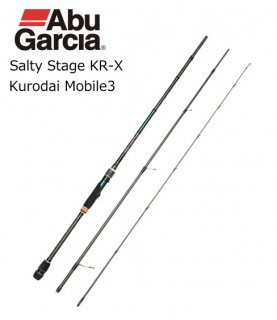 アブ ガルシア ソルティーステージ KR-X クロダイ モバイル 3 SXKS-833PL-AR-KR / チニングロッド 【本店特別価格】(お取り寄せ)