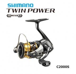 シマノ 20 ツインパワー C2000S / スピニングリール (送料無料)【本店特別価格】