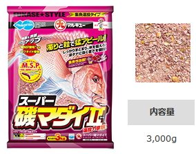 マルキュー スーパー磯マダイII 1箱 (6袋入り) [表示金額+送料別途](お取り寄せ商品) 【本店特別価格】