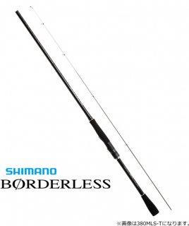 シマノ 20 ボーダレス(ソリッドティップ仕様) 380MLS-T / 万能振出竿 【本店特別価格】