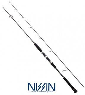 宇崎日新 (NISSIN) ARES アレス ブラックジャガー GVX S601/4 / ジギングロッド (お取り寄せ) 【本店特別価格】