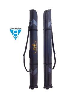 がまかつ ワイドストレートロッドケース GC-275 ブラック (がま石) 185 / ロッドケース (お取り寄せ) 【本店特別価格】