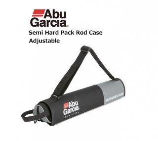 アブ ガルシア セミハード パックロッドケース ブラック 55-90cm / ロッドケース (お取り寄せ) 【本店特別価格】