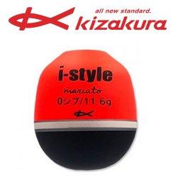 キザクラ i-style marcato (アイスタイル マルカート) 0シブ レッド / ウキ (O01) 【本店特別価格】