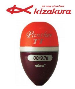 キザクラ パンサー ツートン (Panther TT) レッド 2B / ウキ (O01) 【本店特別価格】