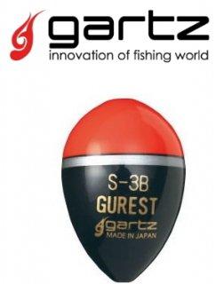 ガルツ (gartz) グレスト S 3B オレンジ / ウキ (O01) (メール便可) 【本店特別価格】