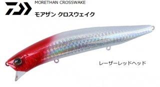 ダイワ モアザン クロスウェイク 140F-SSR #レーザーレッドヘッド / ルアー (O01) (メール便可) 【本店特別価格】