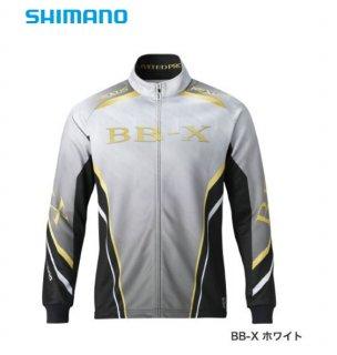 シマノ NEXUS ブレスハイパー+℃ ウォームシャツ LIMITED PRO SH-131T BB-Xホワイト 2XLサイズ (S01) (O01) (送料無料) 【本店特別価格】