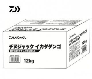 ダイワ チヌジャックイカダダンゴ 箱入り12� / エサ 【本店特別価格】