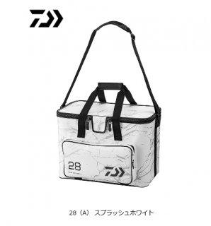 ダイワ ライト クールバッグ 28(A) スプラッシュホワイト (予約商品/2月下旬発売予定)
