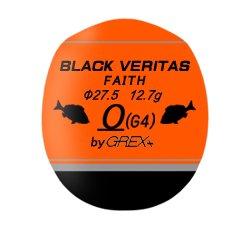 グレックスプラス ブラックヴェリタス フェイス G2 オレンジ / ウキ (O01) (メール便可) 【本店特別価格】
