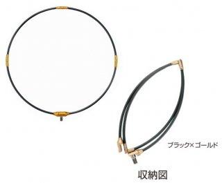 がまかつ タモ枠 (四折り・ジュラルミン) GM-835 ブラック×ゴールド 35cm (お取り寄せ) (送料無料) 【本店特別価格】