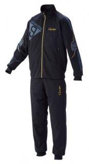 がまかつ ブリーズテックススーツ GM-3535 ブラック×ネイビー Lサイズ / ウェア (お取り寄せ) (送料無料)