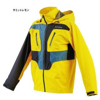がまかつ アクティブフィット レインジャケット LE-4006 サミットレモン Lサイズ / レインウェア (お取り寄せ) (送料無料) 【本店特別価格】