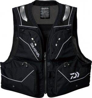 ダイワ バリアテック(R)ショートベスト DV-3021 ブラック XL(LL)サイズ / 鮎ベスト (D01) (O01) (送料無料)