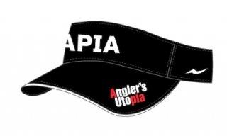 アピア Angler`s Utopia バイザー ブラック フリーサイズ