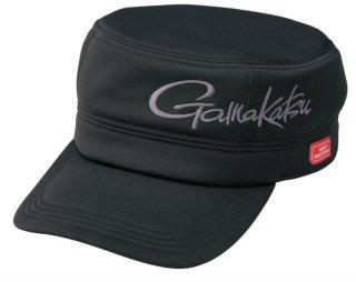 がまかつ ウィンドストッパー (R) ワークキャップ GM-9843 ブラック Sサイズ / 帽子 (お取り寄せ)