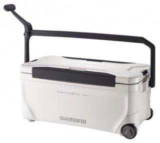 シマノ スペーザ ベイシス 350 キャスター 35L NS-D35U ピュアホワイト / クーラーボックス (SP)