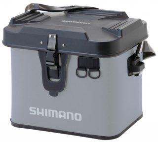 シマノ タックルボートバッグ (ハードタイプ) BK-001T グレー 27L 【本店特別価格】