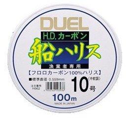 デュエル HD カーボン船ハリス 大物 40号 50m / ライン  (メール便可) (O01) 【本店特別価格】