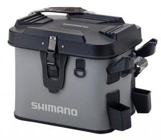 シマノ ロッドレスト ボートバッグ (ハードタイプ) BK-007T グレー 22L (O01) (S01) 【本店特別価格】