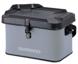 シマノ EVA タックルバッグ(ハードタイプ) BK-002T グレー 22L (O01) (S01) 【本店特別価格】