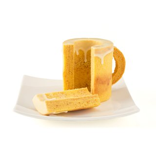 乾杯!ミニビアクーヘン(金箔コーヒー付)
